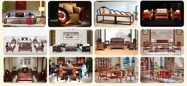中国红木家具生产基地——中山大涌一向以品牌荟萃,产品种类和款式选择众多闻名
