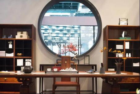 卓木王《品颂茶空间 》,获2018中国国际(上海)红木文化博览会金奖