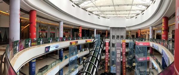 开业商场内随处可见东成红木的广告.jpg
