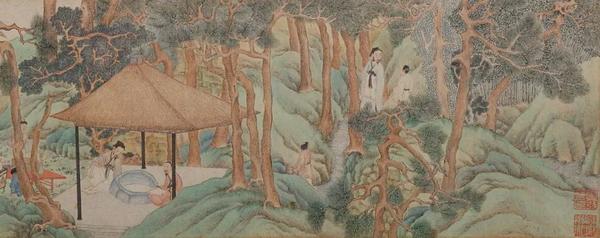 自唐以来,茶文化流传日广