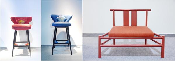 新中式家具在色彩搭配上打破了人们对红木家具的刻板印象