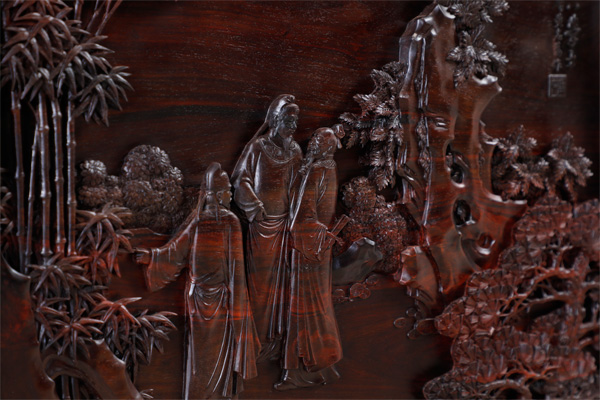 《名士雅集书房》取材于文人雅士雅集的场景,深入探索文人追求的精神生活