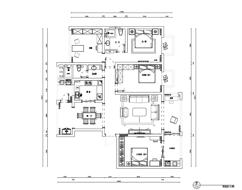 世茂翰河苑176㎡平面方案图.jpg
