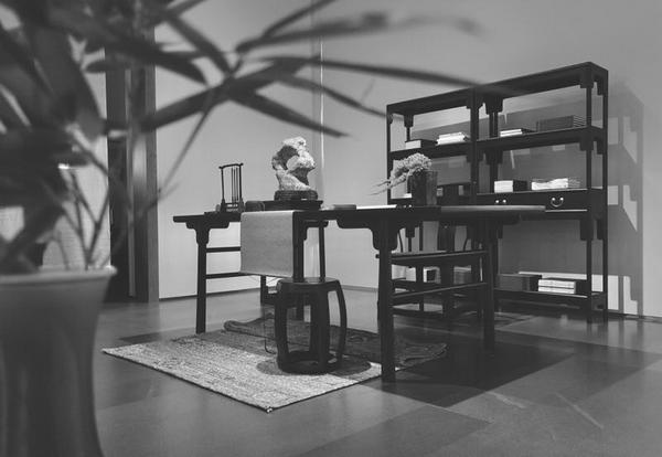 文房百器是文人雅客赏玩之物,独有中国情趣和合的v文房情趣文人体现晨图片