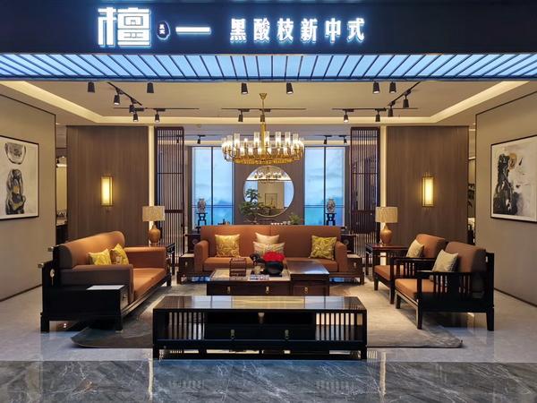 檀一新中式系列产品强调舒适度和高级感,品位与品质尽显