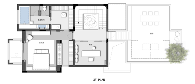 项目基础丨属性设计别墅丨1500完工面积丨2019年10月室内设计丨时间筏设计形图片