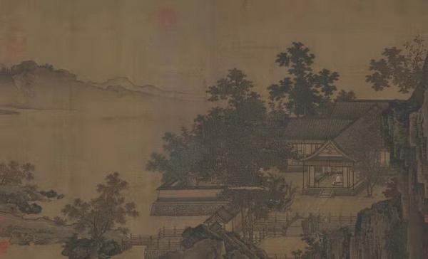▲  《四景山水图》-秋景