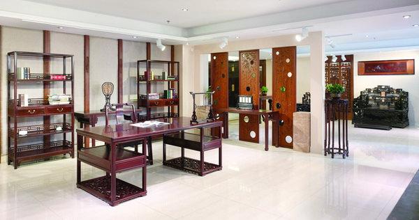 泰和园:苏州园林与别墅红木的异曲同工之妙室内设计师绘图板图片