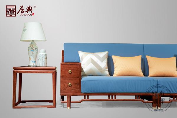 居典红木《悦几千禧沙发》