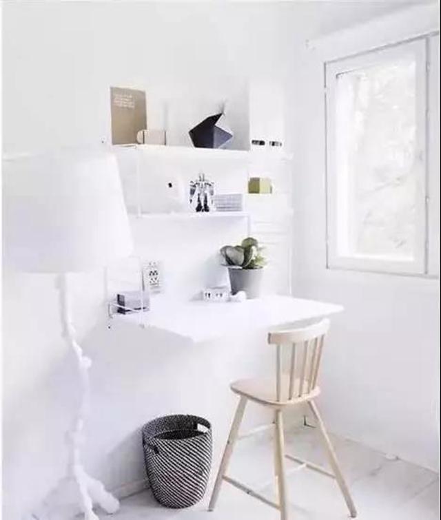 给小户型一个书房,简单又实用的设计