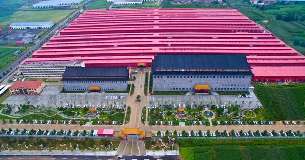 巧奪天工總部占地460畝,有現代化的生產車間