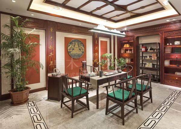 雅致茶室空间