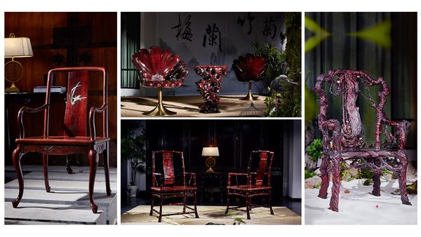 """泰和园当代君子系列""""梅兰竹菊""""四君子的设计,同样体现了苏绣中的""""精、细、雅、洁""""品格"""