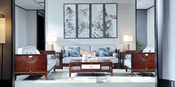 中信紅木·居境2020年推出新中式輕奢產品—《熙境沙發》
