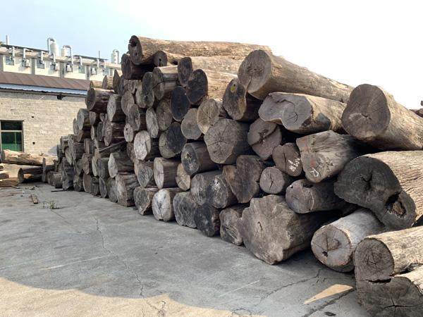 中信红木在海外建立了10个大型木材原料生产基地,保证木材优先选择权