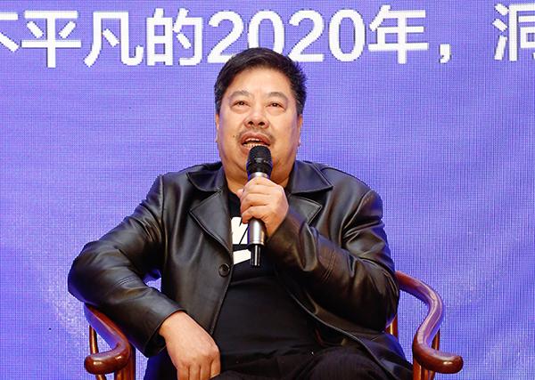 广西红木家具协会会长、凭祥清宝阁红木家具城董事长王宝田在论坛上进行分享发言