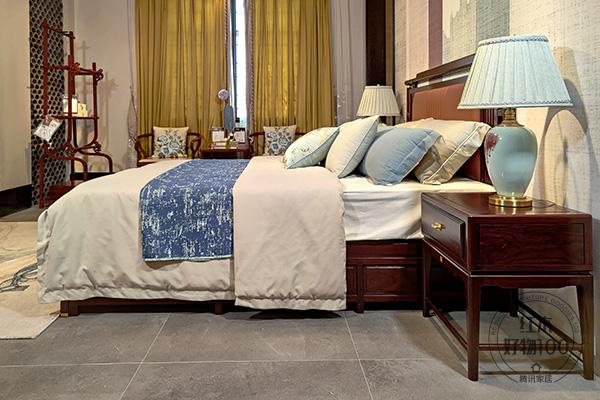 《熙境大床》聚焦优质的睡眠感受,符合人体工学的设计,亲肤舒适的床上用品