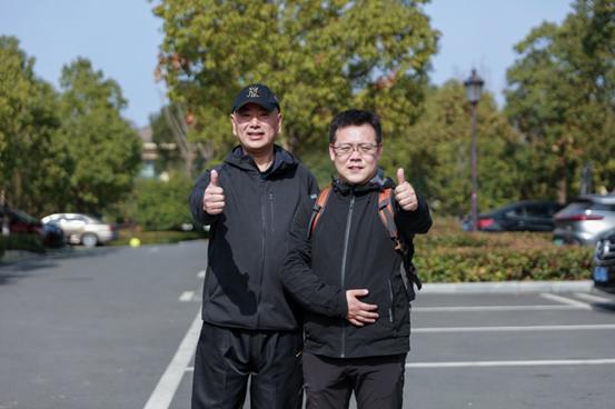 恒达登录注册伟杰集团|成功举行2021开年环四明湖徒步春季拉练活动