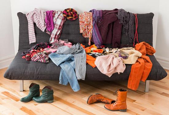 衣服多了,随之而来的是挑选衣服更加麻烦