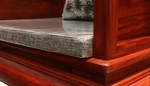 中信红木古典系列新品沙发以简雅的古典明式风格营造现代空间意趣