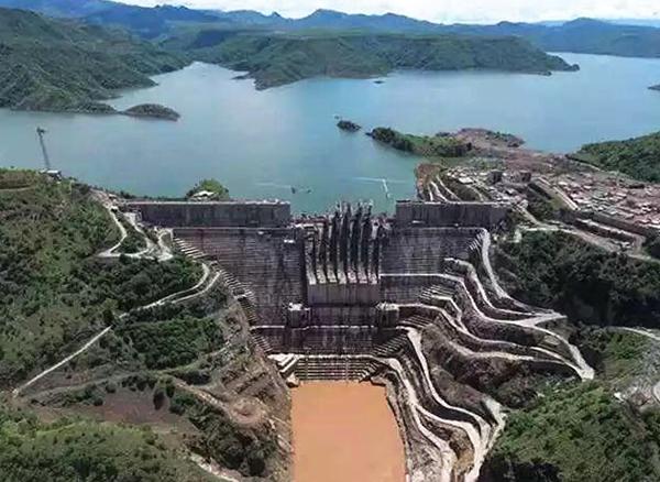 我国承建非洲最大水电站——埃塞俄比亚吉布3水电站