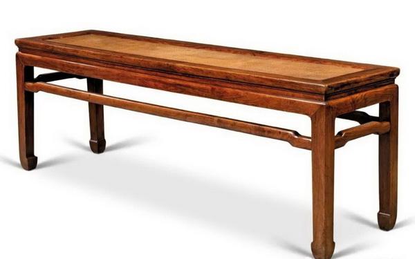 清1718世纪 黄花梨罗锅枨二人凳(106.3万)_调整大小.jpg