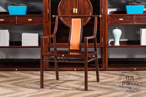 書椅改良于傳統官帽椅,文人氣質與人文情懷融入現代設計中
