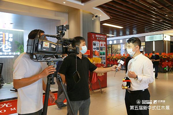 林伟华会长接受媒体采访