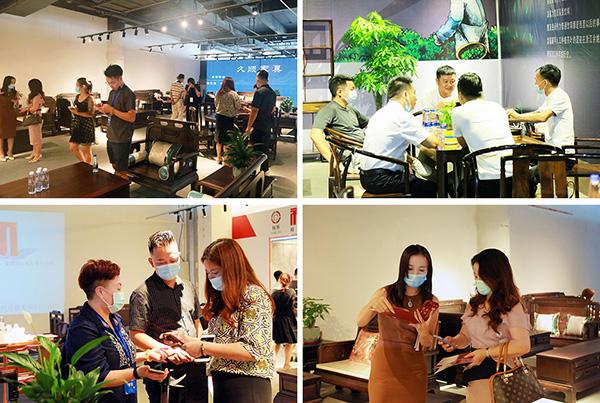 第五届新中式红木展吸引大批红木客商、消费者到场观展选购